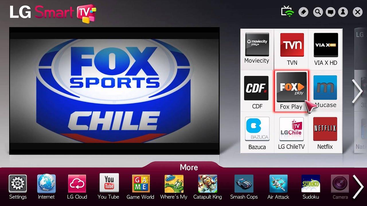 Conoce el nuevo contenido de fox play para lg smart tv for Premium play smart tv