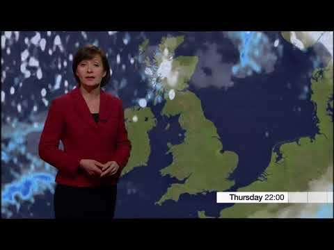 Sara Blizzard BBC East Midlands Today Late Weather February 15th 2018