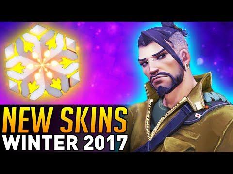 Overwatch | Winter Wonderland 2017 Skin Revealed! (New Boss Mode!)