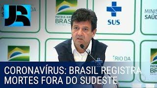 Brasil registra as primeiras mortes pelo coronavírus fora da região Sudeste