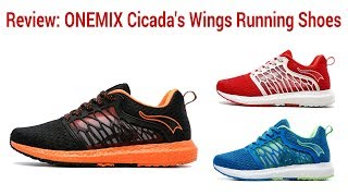 Review: ONEMIX Cicadas Wings Running Shoes