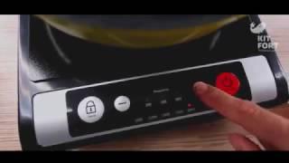 Обзор Индукционная электрическая плита Kitfort КТ-107