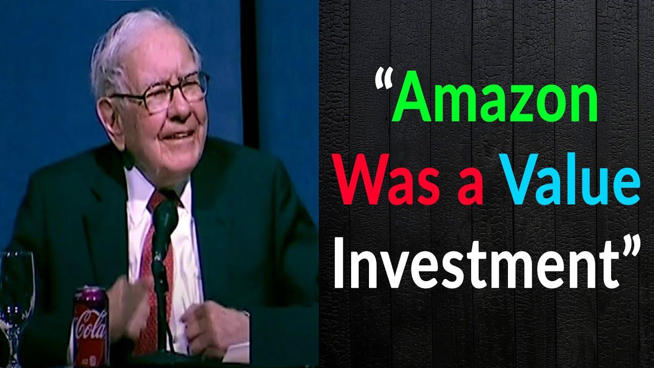 Warren Buffett On His Amazon Investment and Google
