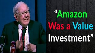 Warren Buffett On His Amazon Investment And Google