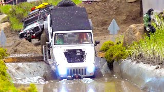 ALL THE BEST RC ACTION//RC TRUCKS//MUDDY RC SCALER//TUNED RC CARS//RC CONSTRUCTION-SITE//RC BUS