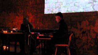 Roedelius & Andrew Heath in concert