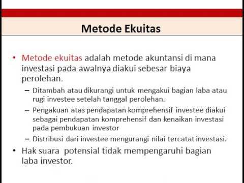 Peraturan Standar Akuntansi PSAK 15 Investasi Pada Entitas Asosiasi