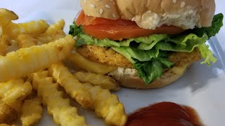 John Soules Air Fryer Chicken Sandwich Patties Idaho Super Crunchy Crinkle Cut Fries Airfryer
