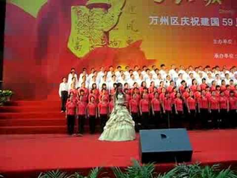 Chongqing Wanzhou Foreign Language School rockin' the house