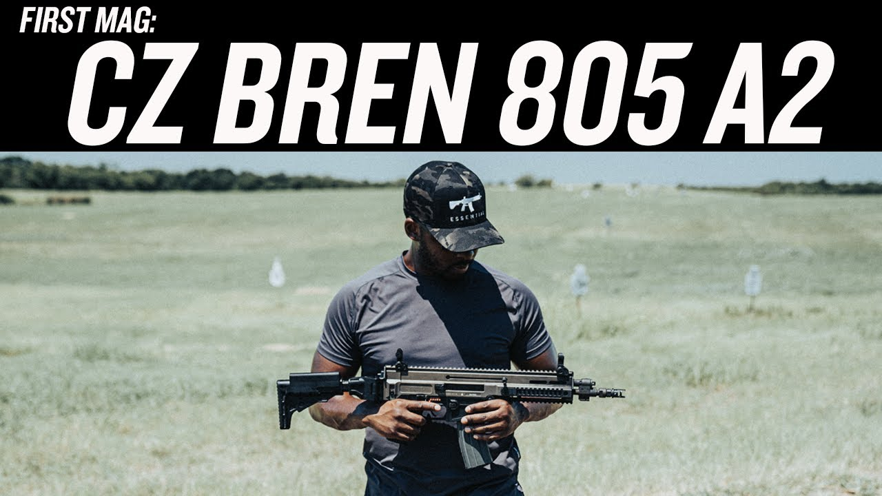 CZ Bren 805 A2 : Awesome But Obnoxious | FIRST MAG REVIEW
