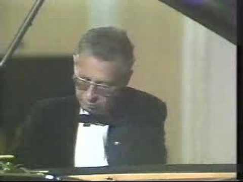 Daniel Pollack performs La Campanella- Paganini-Liszt-Busoni