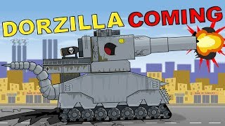 """Dorzilla - Monster Comes"" Cartoons about tanks"