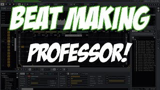 beat maker professor drum and bass style logic pro x