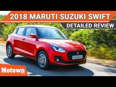 All new 2018 Maruti Suzuki Swift First drive