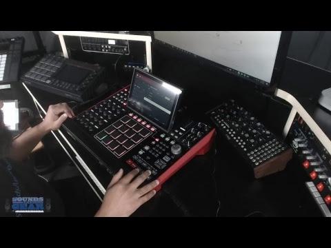 SoundsAndGear Live - Unboxing the Akai MPC X & First Impression