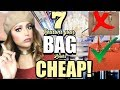 BOUGIE ON A BUDGET FASHION HACKS 7 Reason Your Bag Looks CHEAP  Styling Tips and  Shopping Hacks