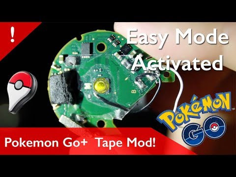 Auto Catch Mod For Pokemon Go Plus With Just Tape!!! - Most Popular