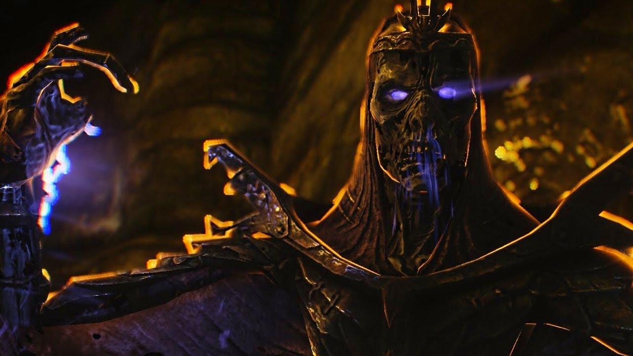 SKYRIM Special Edition: UNMASKED DRAGON PRIEST Encounter ...
