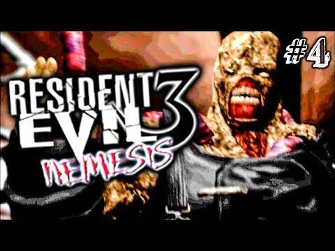 МИШАНЯ! ► Resident Evil 3: Nemesis Прохождение #4 ► ХОРРОР ИГРА