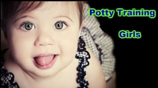 Potty training tips for girls -  Little girls potty training - Girls potty training