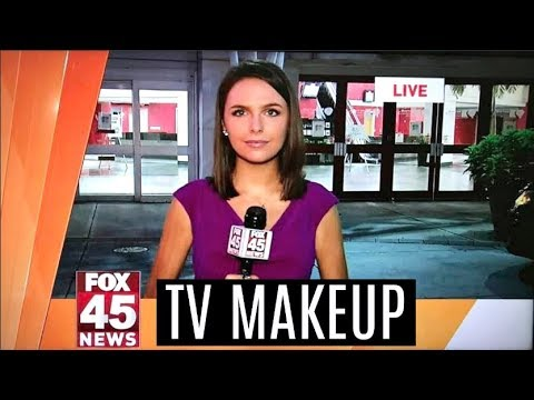 MY TV  REPORTER MAKEUP ROUTINE