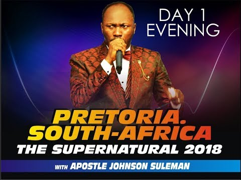 The Supernatural, Pretoria, South Africa - Day 2 evening