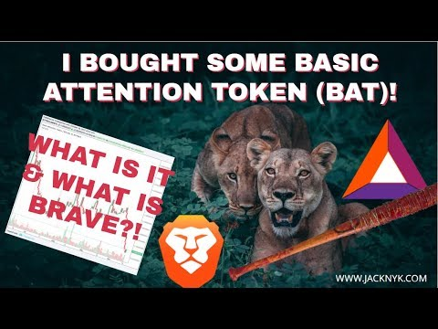 Trading for Basic Attention Token (BAT Coin) and downloading the Brave browser