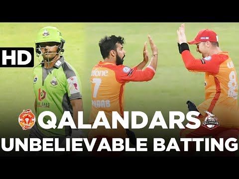 2nd Innings Highlights | Islamabad United vs Lahore Qalandars | Match 20 | PSL 2021 | MG2L