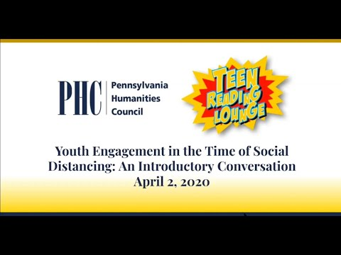 Youth Engagement in the Time of Social Distancing: An Introductory Conversation