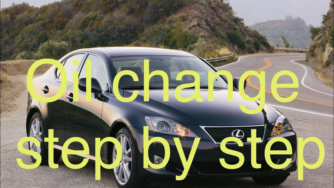 easy oil change lexus is 250