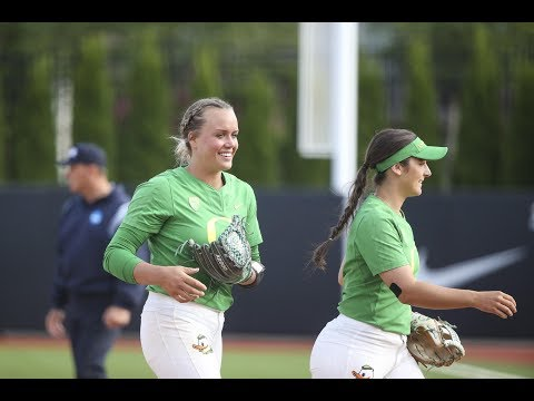 Highlight: Oregon softball run-rules Kentucky, advances to Women's College World Series