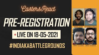 Casters React | They have some questions about BATTLEGROUNDS MOBILE India..
