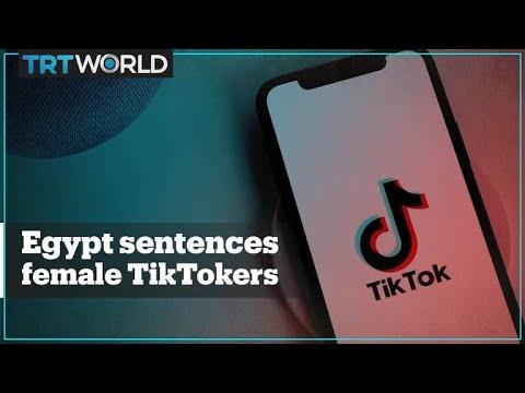 egypt-imprisons-five-female-influencers-over-tiktok-posts