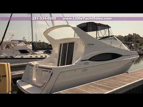 2000 Carver 350 Mariner For Sale At Little Yacht Sales, Kemah Texas