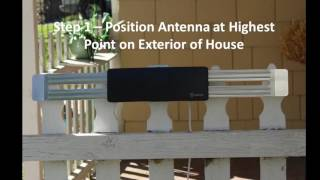 AT 404B Antop Outdoor and Attic HDTV Antenna Wing