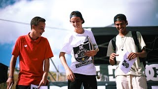 Ericeira Surf & Skate Team DC Challenge 2017 Loulé