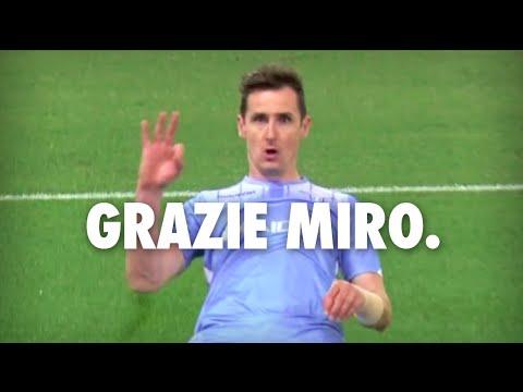 Miroslav Klose - SS Lazio Tribute [2011/2016] - HD