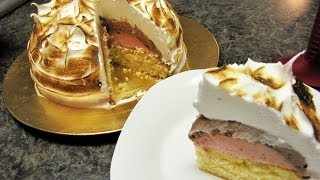 Neapolitan Baked Alaska
