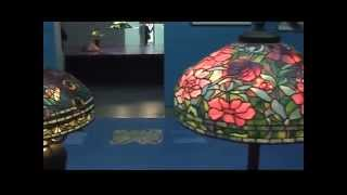 Egon Neustadt Collection of Tiffany Lamps - Tiffany Girls Exhibition in Singer Laren, NL