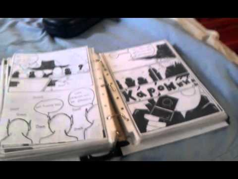 How to make a comic book - YouTube