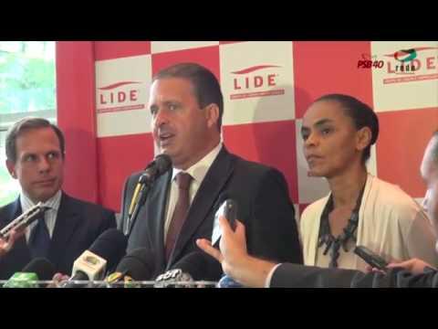 Lide Entrevista Marina Silva e Eduardo Campos