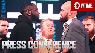 Wilder vs. Fury: London Press Conference | SHOWTIME PPV