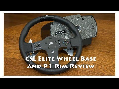 Fanatec CSL Elite Wheel Base and CSL P1 Rim Review