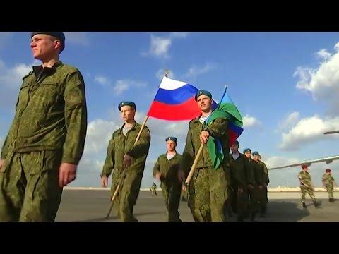 Российские десантники прибыли в Египет для участия в учении «Защитники дружбы – 2016»