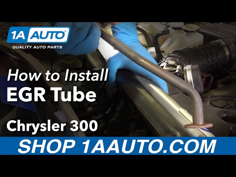 How to Replace EGR Tube 05-10 Chrysler 300