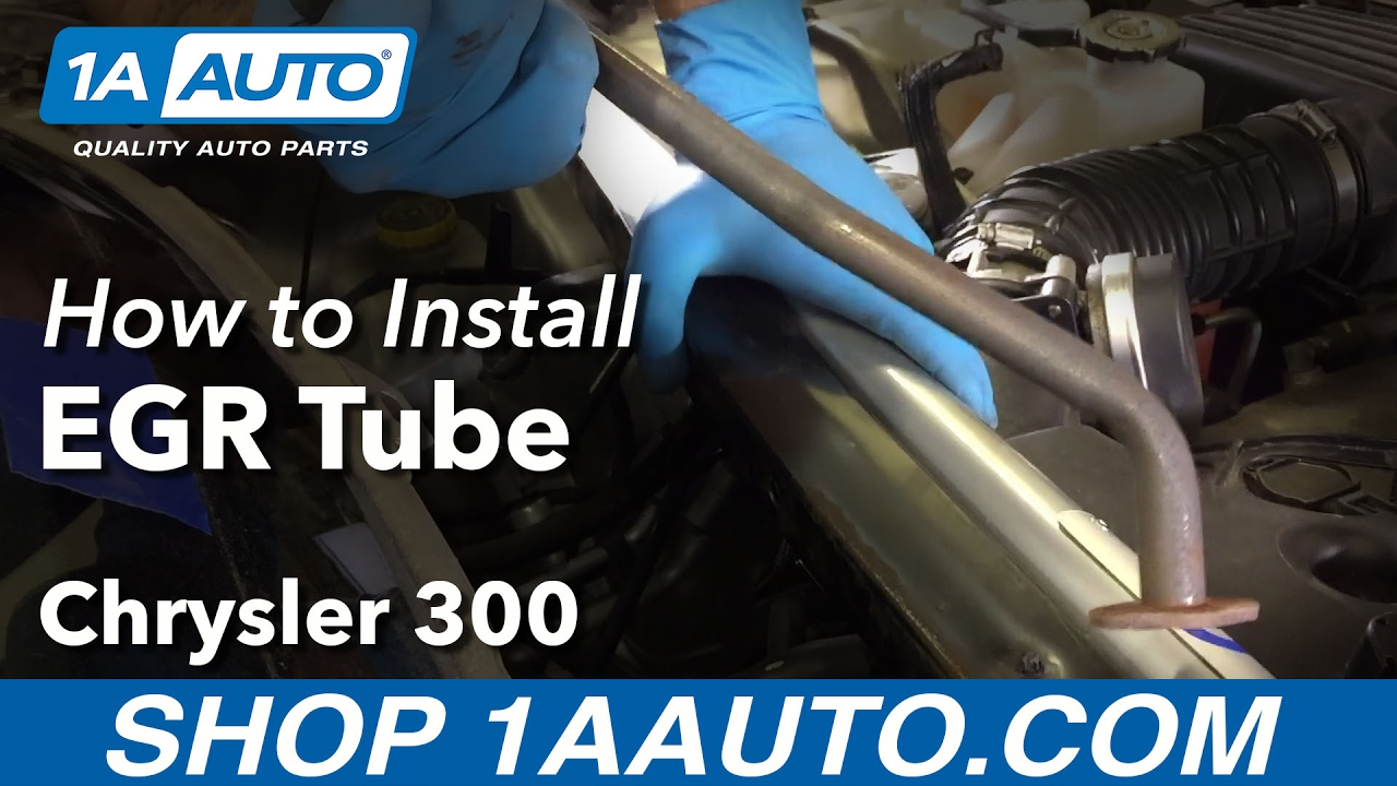 2008 Ram 1500 >> How to Install Replace EGR Tube 2006 Chrysler 300 Buy ...