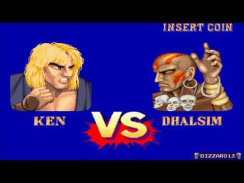 Street Fighter II Champion Edition Ken (Arcade)