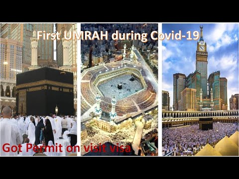 umrah now a days | umrah vlog 2020 | kabay ki ronaq kabay ka manzar | Umrah on visit visa | part 1