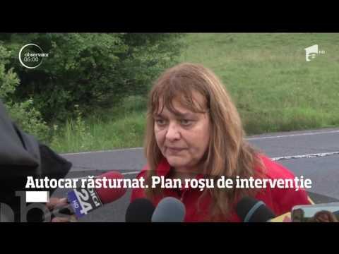 Cod roşu de intervenţie în judeţul în Braşov! 12 oameni au ajuns la spital