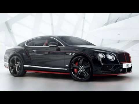 bentley continental gt black speed special edition 2017. Black Bedroom Furniture Sets. Home Design Ideas